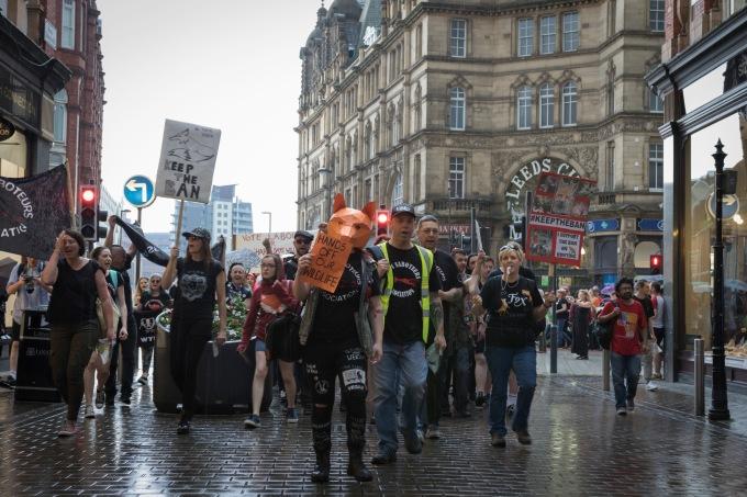 Leeds Protest